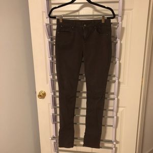 GAP straight brown pants